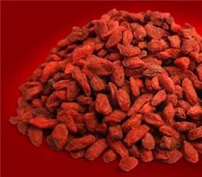 Sušené goji připomínají vzhledem ichutí rozinky nebo sušené brusinky
