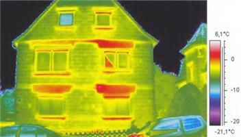 Každý desátý úspěšný žadatel dostane navíc termovizní snímky budovy zdarma