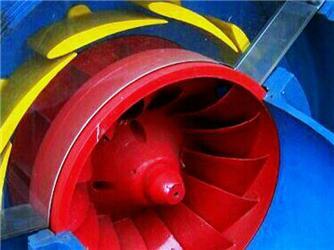 Francisova turbína se využívá ve vodních elektrárnách
