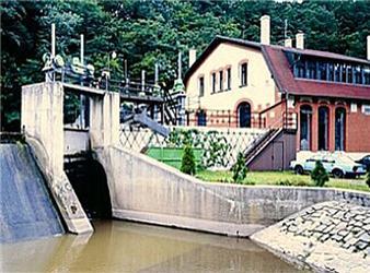Malá vodní elektrárna Želina má výkon 450 kWe