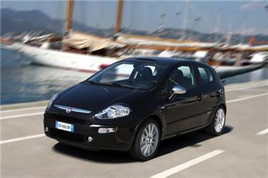 Fiat Punto EVO jezdí také na zemní plyn