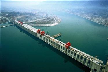 Největší vodní elektrárna svět Tři soutěsky vČíně