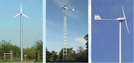 Větrnou elektrárnu můžete mít na zahradě