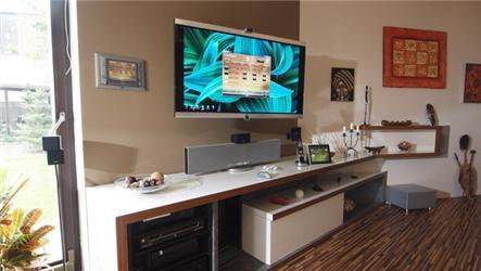 Inteligentní dům má systém, díky němuž lze nastavit různé teploty vrůzných místnostech