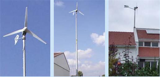 Větrné elektrárny je možné umístit ivzástavbě