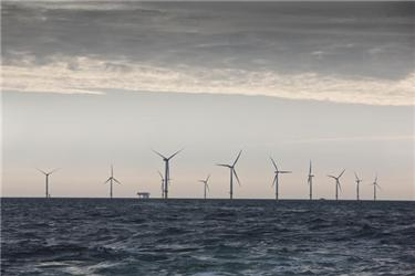 Horns Rev 2 je už devátá větrná farma udánského pobřeží postavená od roku 1991