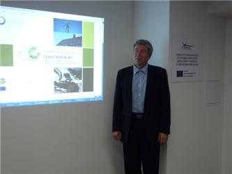 Leoš Gál uprezentace mapy potenciálu obnovitelných zdrojů