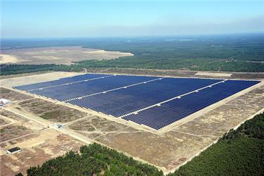 Fotovoltaická elektrárna Lieberose vNěmecku