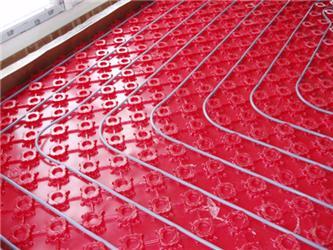 Podlahové vytápění je efektivní akomfortní
