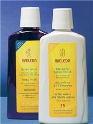 Sluneční set Weleda – Mléko na opalování salpskou protěží apéče po opalování
