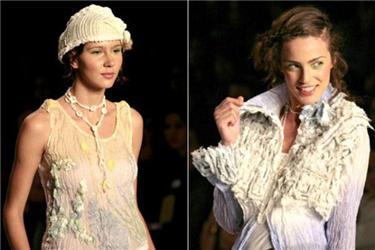 Za ekomodely módních návrhářů se musíme vydat na zahraniční módní přehlídky