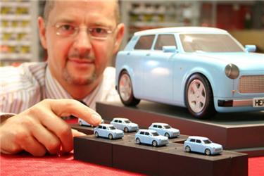 Nový koncept Trabantu nT původně vznikl jako malý modýlek