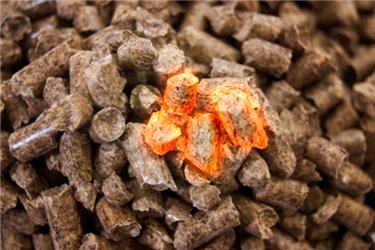 Biomasu můžeme spalovat ve formě pelet