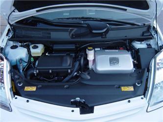 Toyota Prius je poháněna elektromotorem aspalovacím motorem