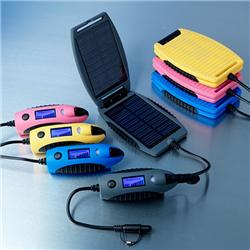 Solární nabíječku pořídíte vněkolika různých barvách