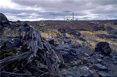 Niklový důl uSudbury vKanadě