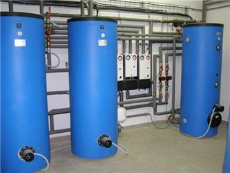 Vnitřní instalace zásobníků teplé vody WPS 500 aakumulačního zásobníku PSP 500