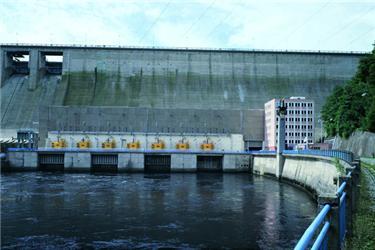 Vodní elektrárna Orlík vyrábí nejvíce elektřiny zčeských hydroelektráren. Zdroj: ČEZ