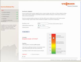 Program vám na základě dvou jednoduchých údajů spočítá úspornost domácího vytápění