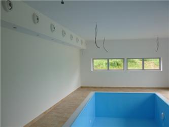 Systém řízeného větrání srekuperací tepla lze využít také při větrání bazénů