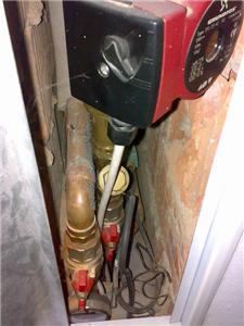 Zapojení krbu do topné soustavy přes termostat