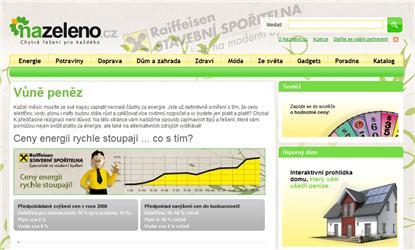Homepage Vůně peněz - Nazeleno.cz