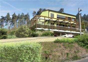 Vzorový pasivní dům SENUB od Ing. arch. Lubomíra Křivky