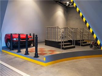 V interiérech byly použity sádrovláknité desky FERMACELL acementové desky FERMACELL Powerpanel H2O osíle 12,5 mm