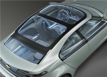 Chevrolet Volt - koncept vozu, který by se měl na silnice dostat vroce 2010 nebo 2011