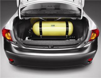 Předělání auta na CNG stojí vprůměru 60 000 Kč