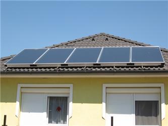 Žadatel si přál využít kombinaci solárních panelů akotle na biomasu