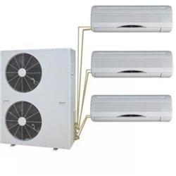 Multisplit klimatizace sjednou venkovní atřemi vnitřními jednotkami