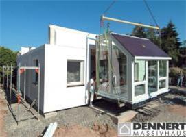 Dům ICON lze smontovat již za jediný den ato včetně střechy