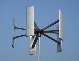 Větrné elektrárny svertikální osou otáčení podobně jako Energy Ball fungují ipři nižších rychlostech větru