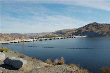 Hydroelektrárna Grand Coulee dodává elektrickou energii celému severozápadu Spojených států