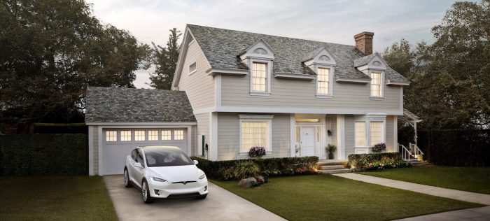 solární střecha Tesla