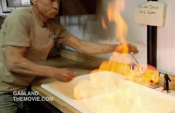 Gasland - hořící voda