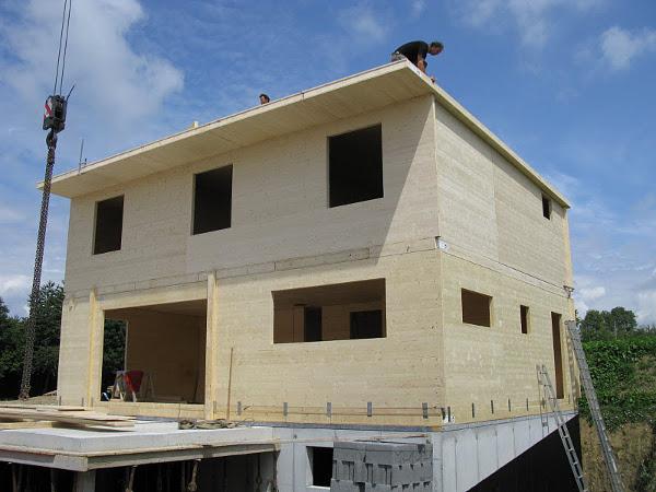 Dřevostavba zCLT panelů